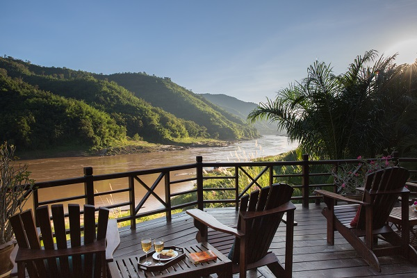 Mekong North Luang Say bungalow view